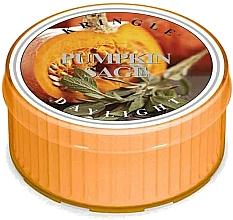 Parfumuri și produse cosmetice Lumânare de ceai - Kringle Candle Pumpkin Sage Daylight