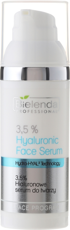 Ser hyaluronic pentru față 3,5% - Bielenda Professional Face Program 3.5% Hyaluronic Face Serum — Imagine N1