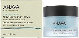 """Parfumuri și produse cosmetice Gel-cremă """"Hidratare activă"""" - Ahava Time To Hydrate Active Moisture Gel Cream"""