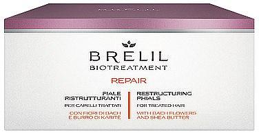 Fiole pentru regenerarea părului - Brelil Bio Treatment Repair Phials — Imagine N1