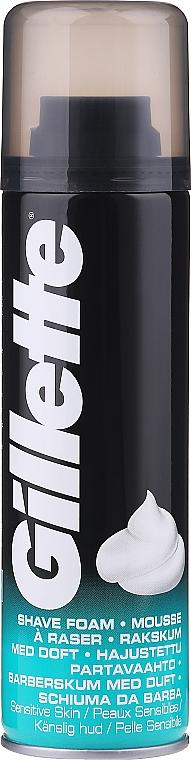 Spumă de ras - Gillette Sensitive Skin Foam