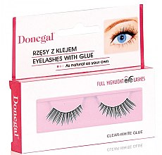 Parfumuri și produse cosmetice Gene false, 4450 - Donegal Full Highlight Eye Lashes
