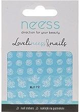 Parfumuri și produse cosmetice Abțibilduri pentru unghii, 3692, MJ172 - Neess