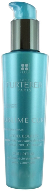 Loțiune activatoare - Rene Furterer Sublime Curl Nutri-Activating Cream — Imagine N1