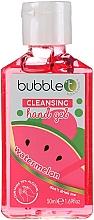 """Parfumuri și produse cosmetice Gel antibacterian de curățare pentru mâini """"Pepene verde"""" - Bubble T Watermelon Hand Cleansing Gel"""