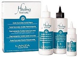 Parfumuri și produse cosmetice Set pentru ondularea chimică a părului - L'anza Healing Texture Sure Success Acid Perm (neutralizer/118ml + lot/82ml + activator/21ml)
