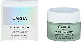 Parfumuri și produse cosmetice Cremă matifiantă pentru față - Carita Ideal Controle La Creme Controle Purifying Mattifying