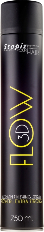 Lac de păr - Stapiz Flow 3D Keratin Finishing Spray — Imagine N1