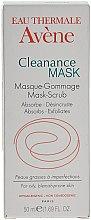 Parfumuri și produse cosmetice Mască exfoliantă pentru ten acneic - Avene Exfoliating Absorbing Cleanance Mask-Scrub