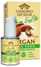 Parfumuri și produse cosmetice Ulei de argan pentru față, corp și păr - Giardino Dei Sensi Eco Bio Face Body Hair Argan Oil