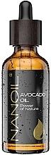Parfumuri și produse cosmetice Ulei de avocado - Nanoil Body Face and Hair Avocado Oil