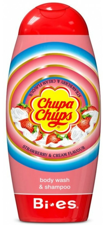 Bi-Es Chupa Chups Strawberry - Șampon