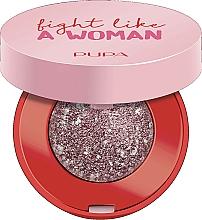 Parfumuri și produse cosmetice Farduri de ochi - Pupa Fight A Like Woman Dual Chrome Eyeshadow