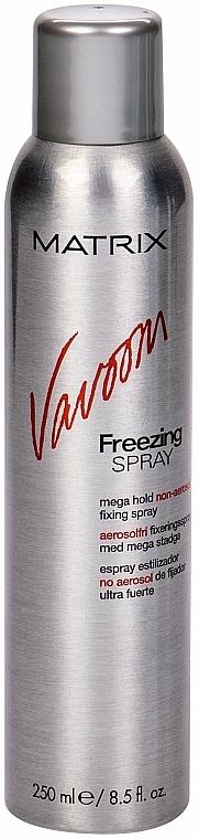 Lac de păr cu fixare foarte puternică - Matrix Vavoom Freezing Spray Mega Hold — Imagine N1
