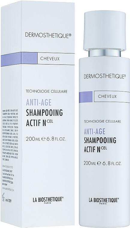 Șampon anti-îmbătrânire pentru păr normal - La Biosthetique Anti Age Shampooing Actif N — Imagine N1