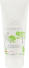 Parfumuri și produse cosmetice Balsam revitalizant pentru păr deteriorat - Wella Professionals Elements Lightweight Renewing Conditioner