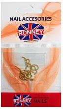 Parfumuri și produse cosmetice Strasuri pentru unghii, 00375, aurie - Ronney Professional