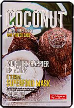 Parfumuri și produse cosmetice Mască pentru față - Dermal Mask Rice
