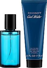 Parfumuri și produse cosmetice Davidoff Cool Water - Set (edt/40ml + sh/gel/75ml)
