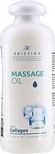 Parfumuri și produse cosmetice Ulei cu colagen pentru masaj - Hristina Professional Massage Oil With Collagen