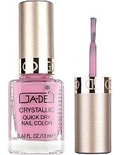 Parfumuri și produse cosmetice Lac de unghii - GA-DE Crystallic Quick Dry Nail Color