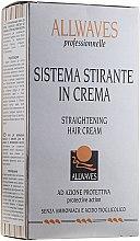 Parfumuri și produse cosmetice Cremă pentru îndreptarea părului - Allwaves