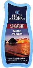 Parfumuri și produse cosmetice Odorizant de aer - Felce Azzurra Gel Air Freshener Notte d'estate