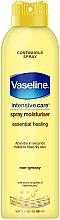 Parfumuri și produse cosmetice Spray hidratant pentru corp - Vaseline Intensive Care Essential Healing Spray Moisturiser