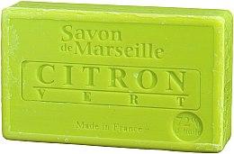 "Parfumuri și produse cosmetice Săpun natural ""Lămâie și Lime"" - Le Chatelard 1802 Soap Lemon & Lime"