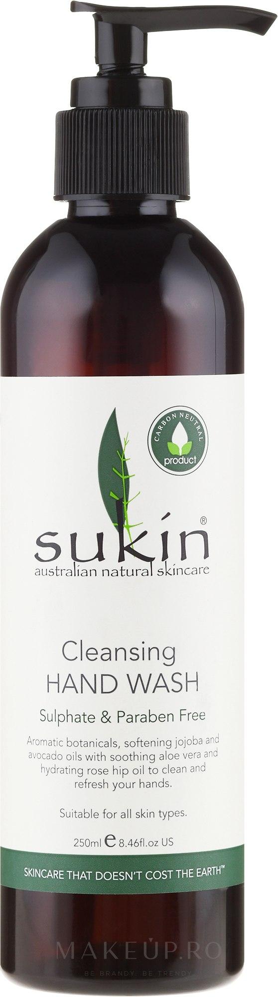 Săpun lichid - Sukin Cleansing Hand Wash — Imagine 125 ml