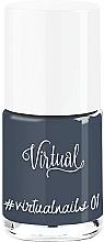 Parfumuri și produse cosmetice Lac de unghii - Virtual #virtualnails
