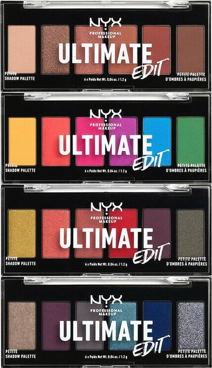 Paletă de farduri pentru pleoape - NYX Professional Makeup Ultimate Edit Petite Shadow Palette