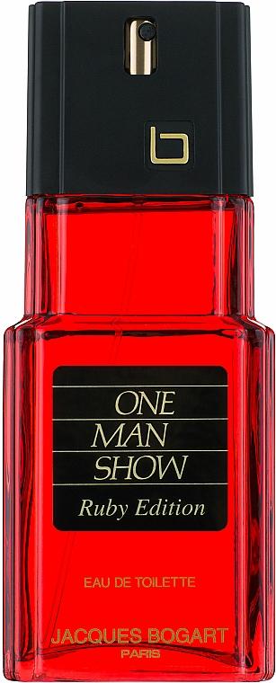 Bogart One Man Show Ruby Edition - Apă de toaletă — Imagine N1