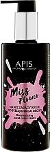 Parfumuri și produse cosmetice Cremă hidratantă pentru mâini - APIS Professional Miss Flower Hand Cream