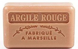 """Parfumuri și produse cosmetice Săpun de Marsilia """"Argilă roșie"""" - Foufour Savonnette Marseillaise Argile Rouge"""