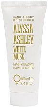 Parfumuri și produse cosmetice Alyssa Ashley White Musk - Loțiune pentru mâini și corp