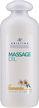 """Parfumuri și produse cosmetice Ulei pentru masaj """"Mușețel"""" - Hristina Professional Chamomile Massage Oil"""