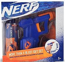 Parfumuri și produse cosmetice Set - EP Line Nerf Blaster Set (sh/gel/200ml + toy)