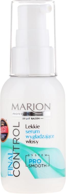 Ser pentru îndreptarea părului - Marion Final Control
