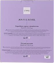 C-Thru Joyful Revel - Set (deo/spray/75ml + sh/gel/250ml) — Imagine N4