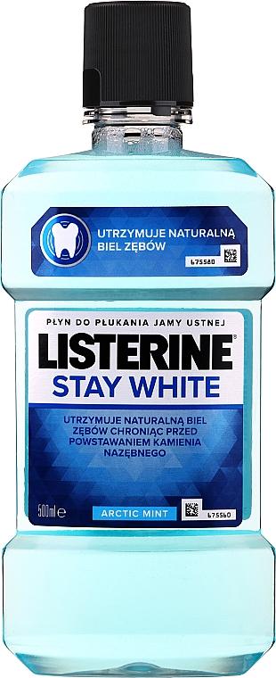 Apă de gură cu efect de albire - Listerine Stay White