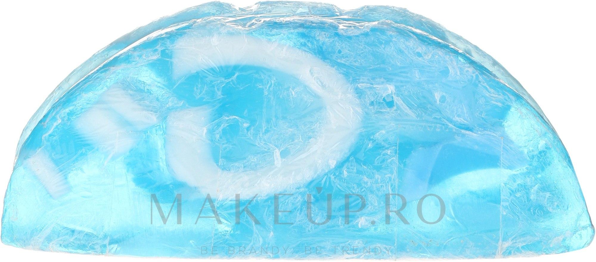 """Săpun cu glicerină """"Ocean"""" - Bulgarian Rose Rose Fantasy Glycerine Soap Oceanic — Imagine 104 g"""