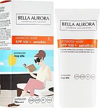 Parfumuri și produse cosmetice Cremă de protecție solară pentru față - Bella Aurora Solar Protector Sensible SPF100+