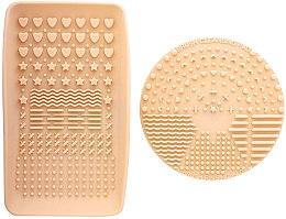 Parfumuri și produse cosmetice Soluție pentru curățarea pensulelor - Nanshy Makeup Brush Cleaning Pad & Palette