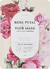 Parfumuri și produse cosmetice Mască de păr hrănitoare - Petitfee&Koelf Rose Petal Satin Hair Mask