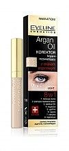 Parfumuri și produse cosmetice Corector de ochi cu ulei de argan 8în1 - Eveline Cosmetics Argan Oil