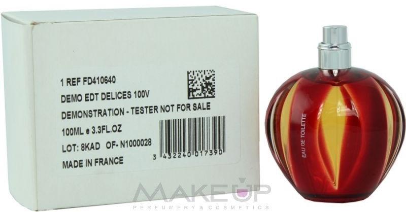 Cartier Delices - Apă de toaletă (tester fără capac) — Imagine N2