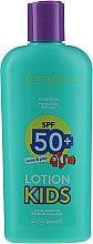 Parfumuri și produse cosmetice Cremă cu protecție solară pentru copii - Mediterraneo Sun Kids Lotion Swim & Play Protetor Solar SPF50