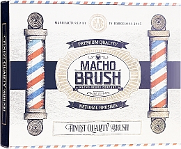 Parfumuri și produse cosmetice Perie pentru barbă, ovală - Macho Beard Company Macho Brush