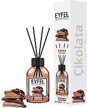 """Parfumuri și produse cosmetice Difuzor de arome """"Ciocolată"""" - Eyfel Perfume Reed Diffuser Chocolate"""
